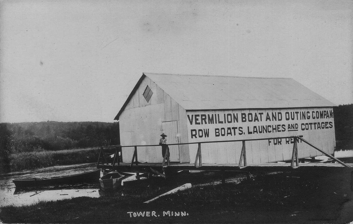Vermilion Boat and Outing Company boathouse