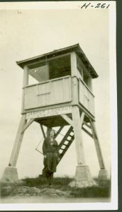 Jasper Peak's original lookout station