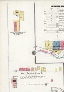Sanborn Fire Insurance Maps - Tower, MN - October 1921