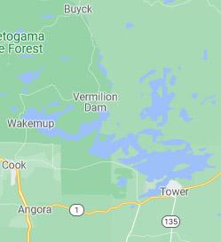 Lake Vermilion Map